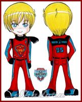 Chibi Gijinka: Ice Racers McQueen. by Shadoru-Flames