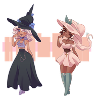 [CLOSED ] double trouble witches by uviixo