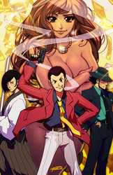 LUPIN THE THIRD by Robaato