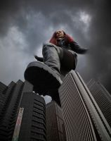 Stepping down on the city (by the-Wonderslug) by Amarie-Tinuviel
