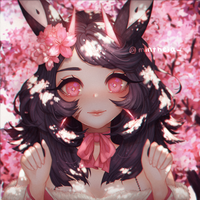 cherry blossoms by helminths