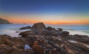 Diggers Beach by TarJakArt