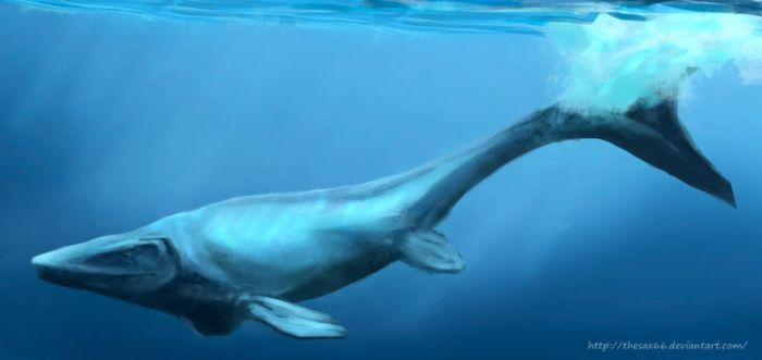 Mosasaur by TheSax66