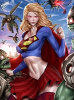 Supergirl by Hibren