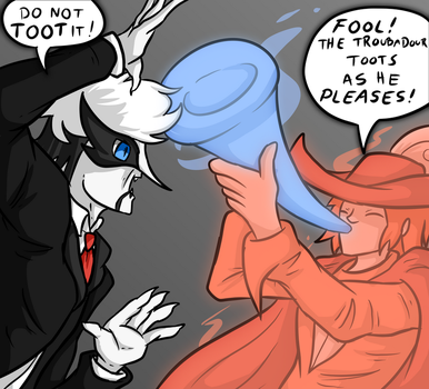 Bloodstain toot by Saragonvoid