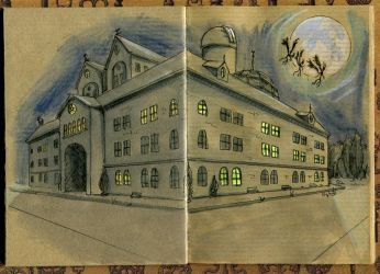 Miskatonic University by stephtlm