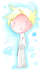 Little Canvas chibithing by kurisquare
