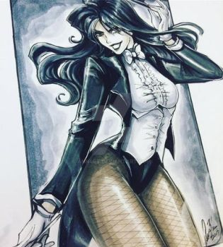 Zatanna by ann4rt