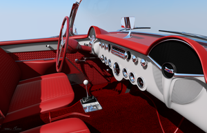 57' Vette interior 2 by RayMontes