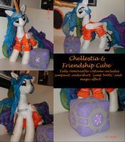 Chellestia and Friendship Cube MLP Plushie Contest by The-Crafty-Kaiju