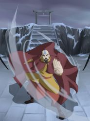 The Airbending Master by Destron23