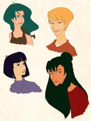 Disneyfied - more Sailor Moon by scaragh