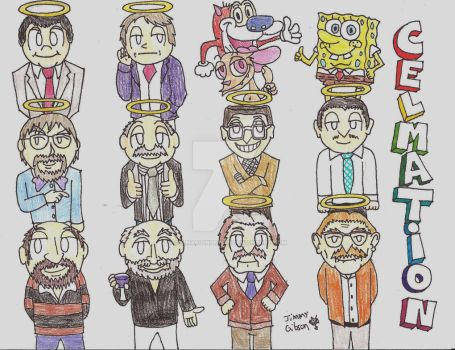The Heroes and Legends of Cel-mation Part 2 by CelmationPrince