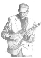 Frankenstein's Les Paul A3 by Carl-Seager