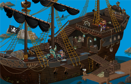 korsan gemisi-the pirate ship by planeutron