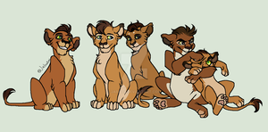 TLK: The Lion Guard in the making by Jabata