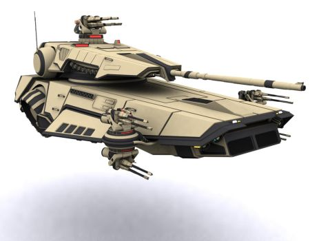 Modded Hover Tank by WARxSnake