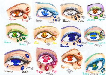 Zodiac Eyes - Look Through Your Soul by ALittleLady