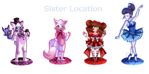 FNAF-Sister Location Chibi by AliceRein