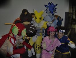 digimon cosplay by fontainekia
