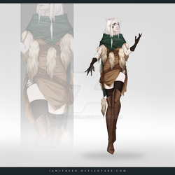 (CLOSED) Adoptable Outfit Auction 312 by JawitReen