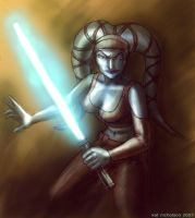 Aayla Secura by KatCardy