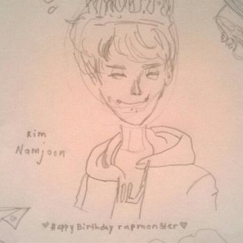 Happy Birthday, Joonie by HylianKupo