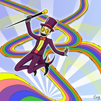 The Warden- A Rainbow Day by Curryh