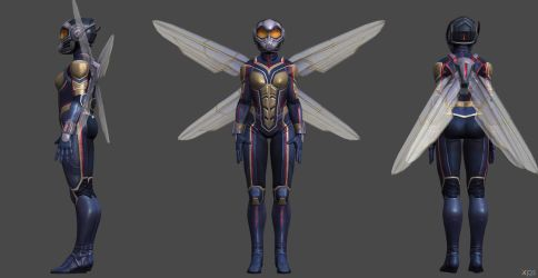 Wasp MCU CoC by SSingh511