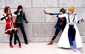5D's Tag Duel by KarniMolly