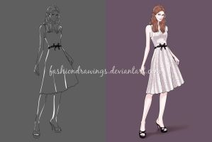 Fashiondrawings flyer by fashiondrawings
