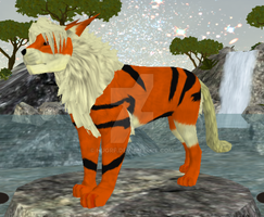Arcanine Preset for Feralheart by Hugrf