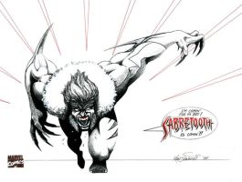 Sabretooth by KSowinski