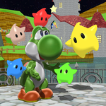 Yoshi, the Luma Magnet by Mario-and-Sonic-Guy