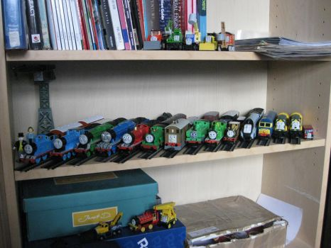 Locomotive's Thomas collection by Pokelord-EX
