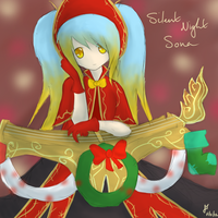 League of Legends: Silent Night Sona by TheMuteMagician