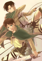 Eren and Levi by SuS22222