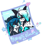 Marinette and Penelope [completed YCH] by LavvytheJackalope