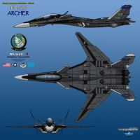 IFX-25 Archer_Warwolf One_01 by haryopanji