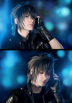 Final Fantasy XV - Noctis - Bad news by Krisild