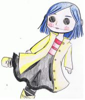 Coraline Doll by pickle131