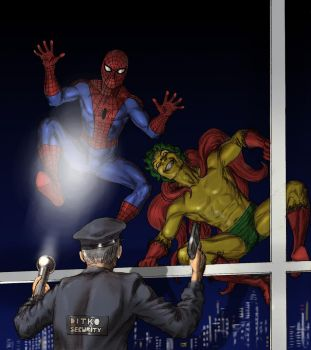 TLIID Spider-Man team-up The Creeper by Nick-Perks