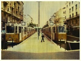 moving in Budapest by siralbus