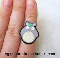 Totoro Ring by egyptianruin