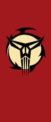 Vertical Banner of the Mandalorian Neo-Crusaders by DarthOzzy