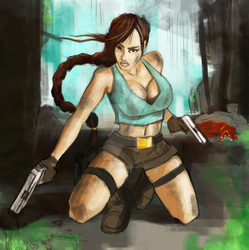Lara Croft by wiewiorwladek