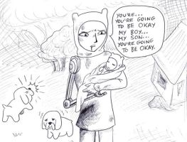 Daddy Finn Theory by Batsu13angel