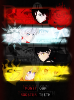 RWBY poster contest submission 1 by VnixxiR
