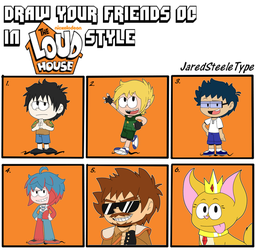 Event #1: OC Loud house style by JaredSteeleType