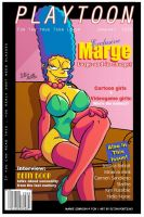 Playtoon - Marge Simpson by eltonpot